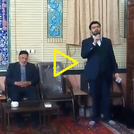 مداحی شب میلاد امام سجاد (ع) در مسجد صاحب الامر (عج)