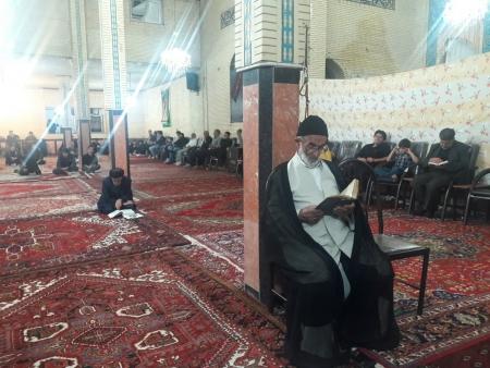 مراسم احیای شبهای قدر در مسجد صاحب الامر (عج) تسوج